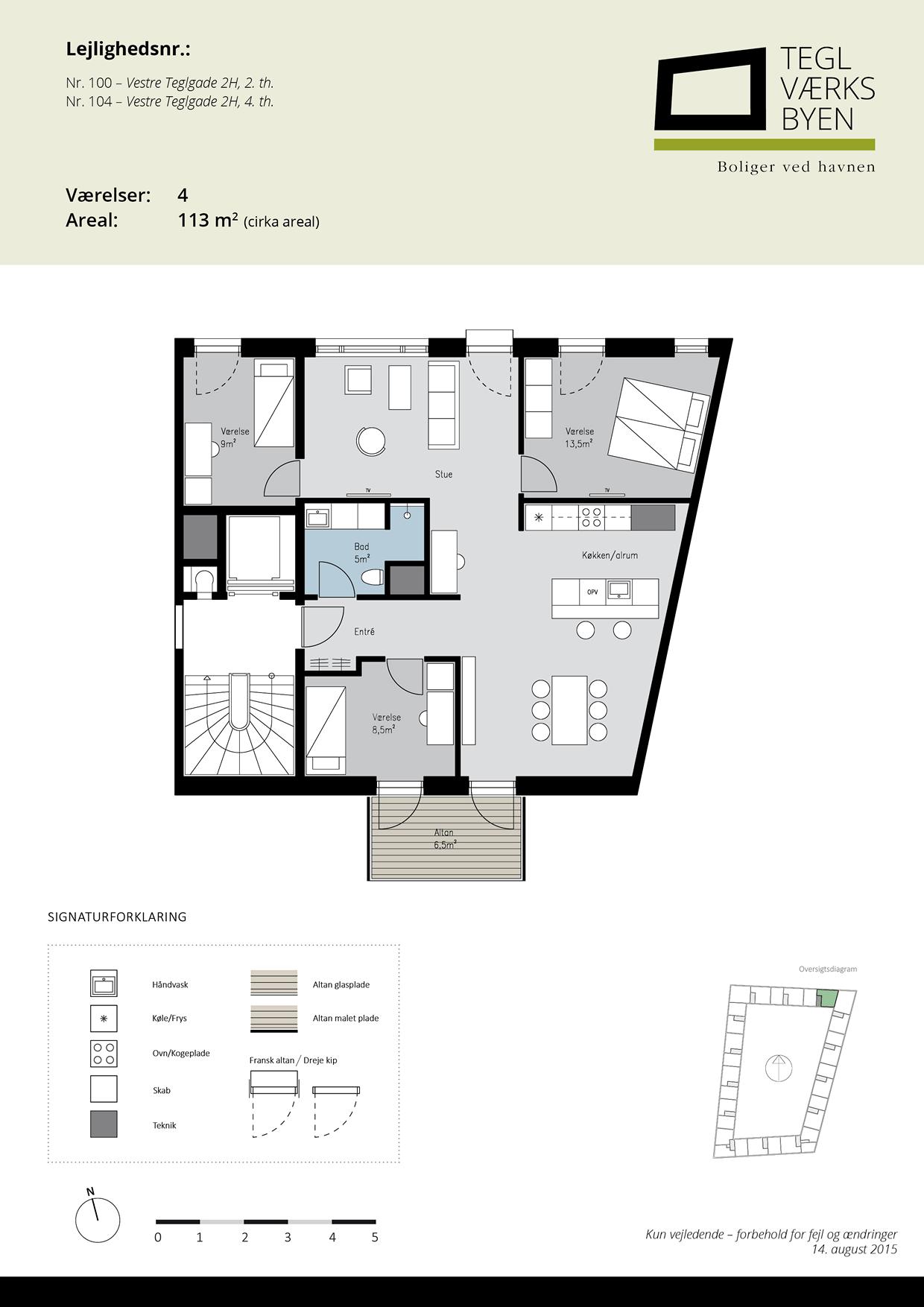 Teglvaerksbyen_100-104_plan