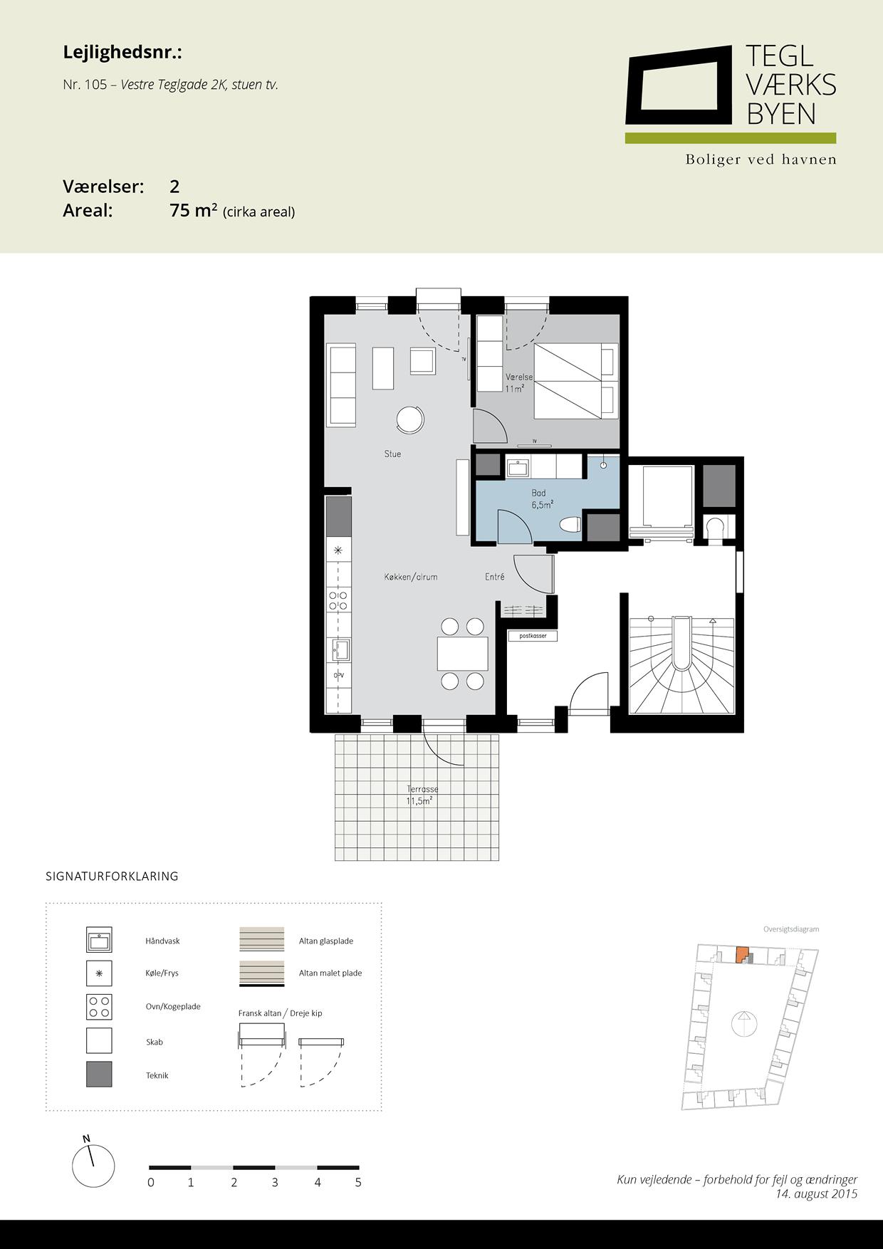 Teglvaerksbyen_105_plan
