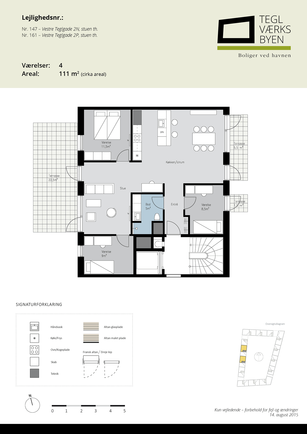 Teglvaerksbyen_147-161_plan