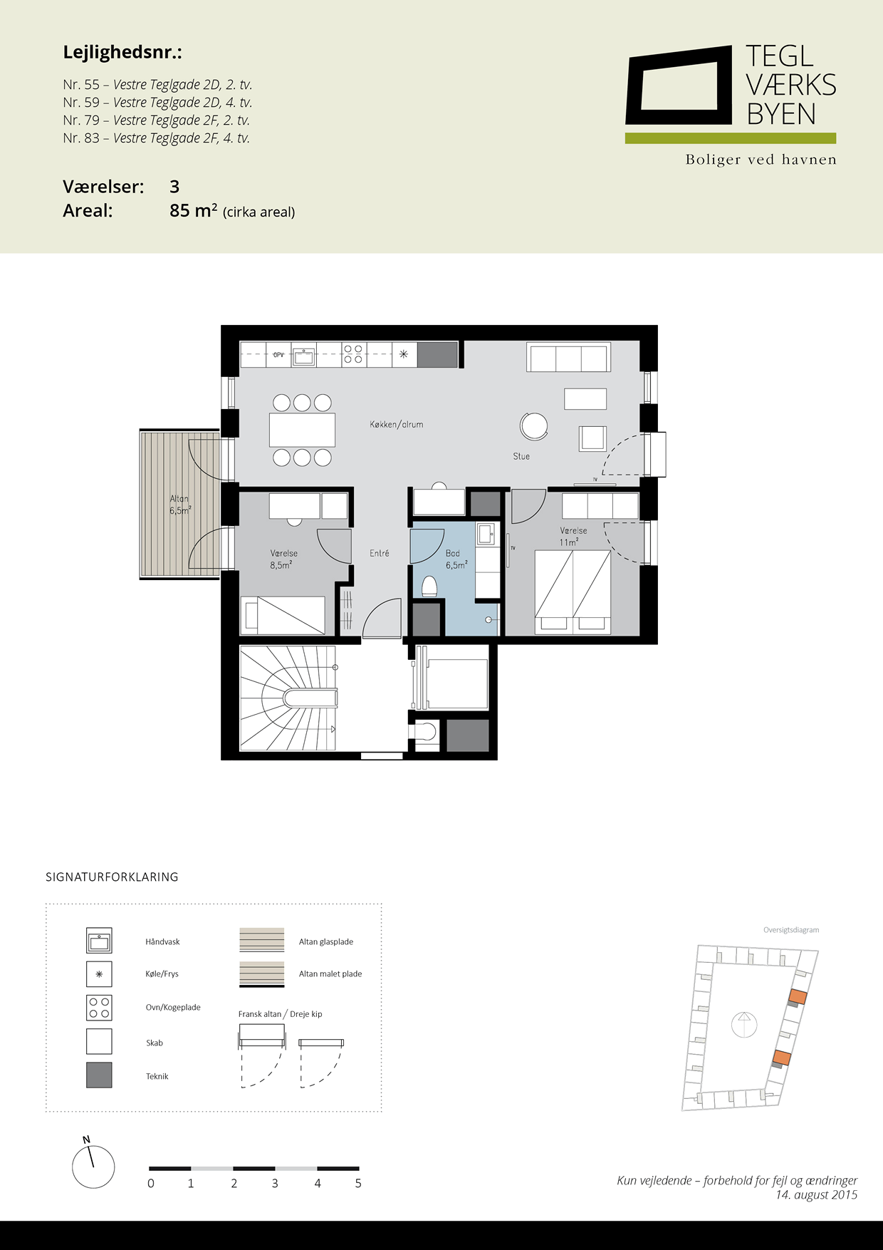 Teglvaerksbyen_55-59-79-83_plan