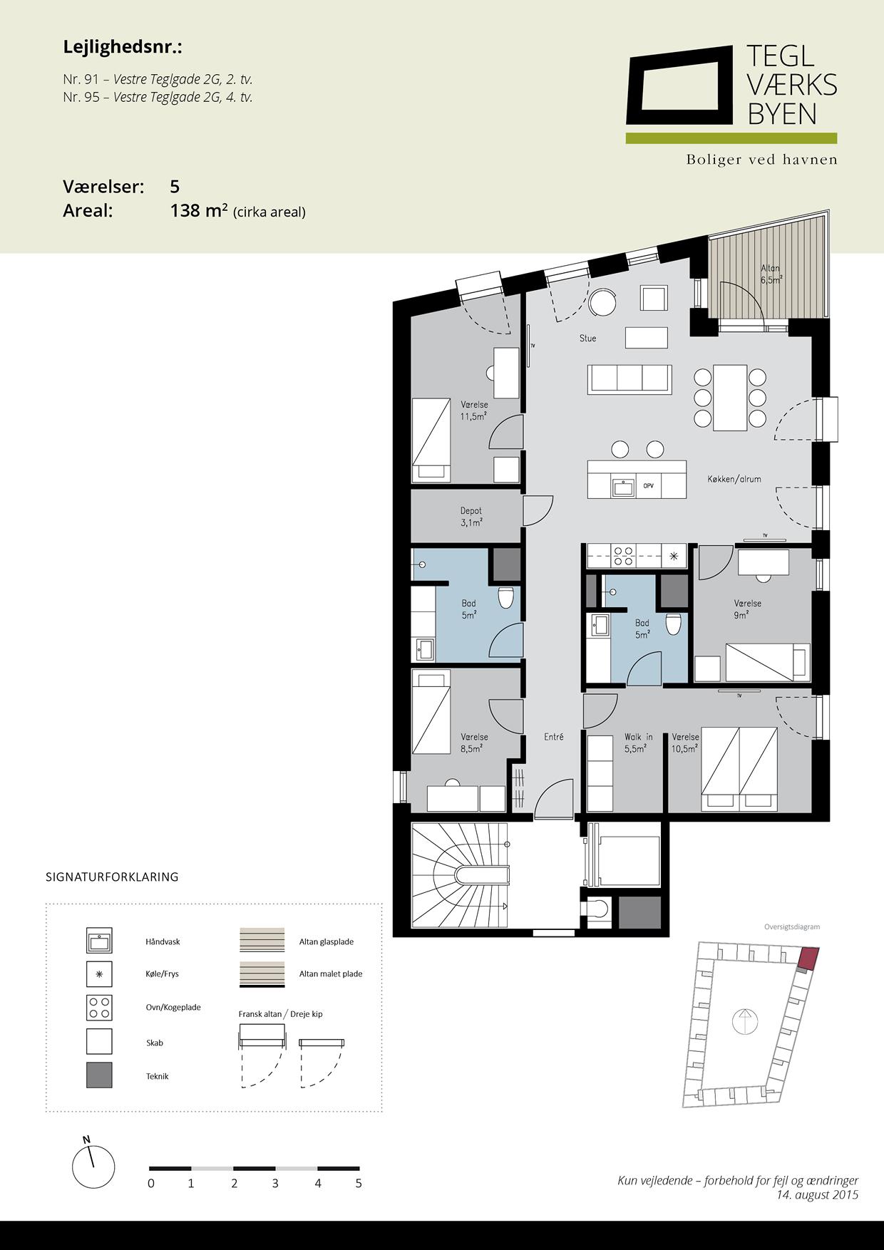 Teglvaerksbyen_91-95_plan