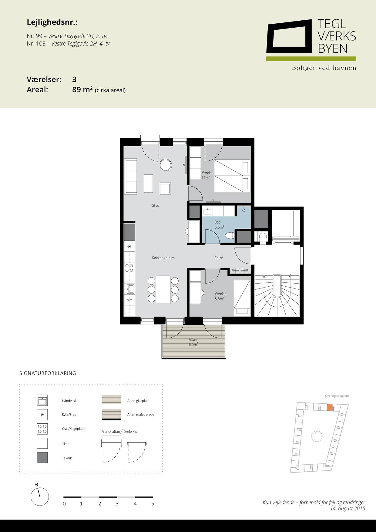 Teglvaerksbyen_99-103_plan